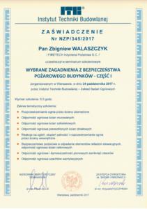 Certyfikat 3201