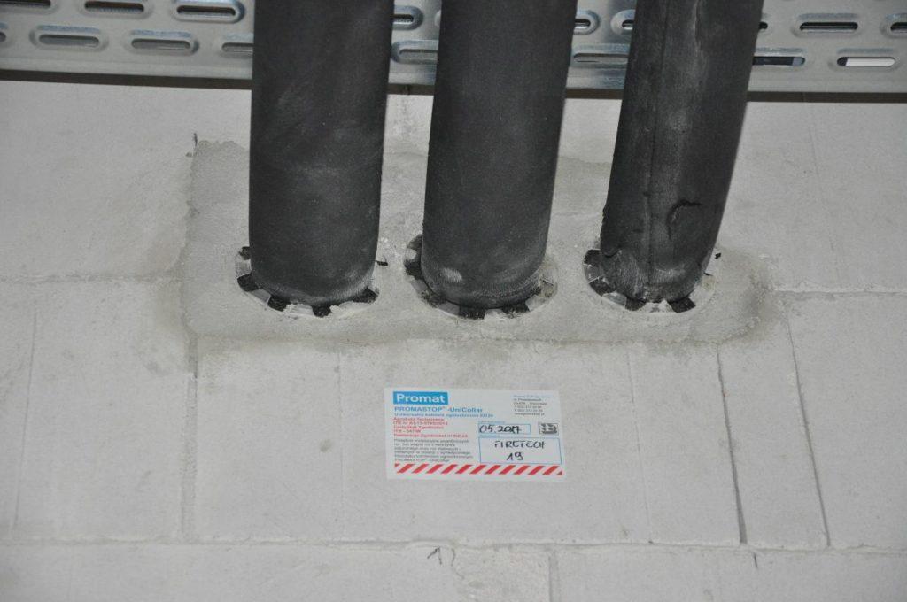 przepusty instalacyjne rurowe