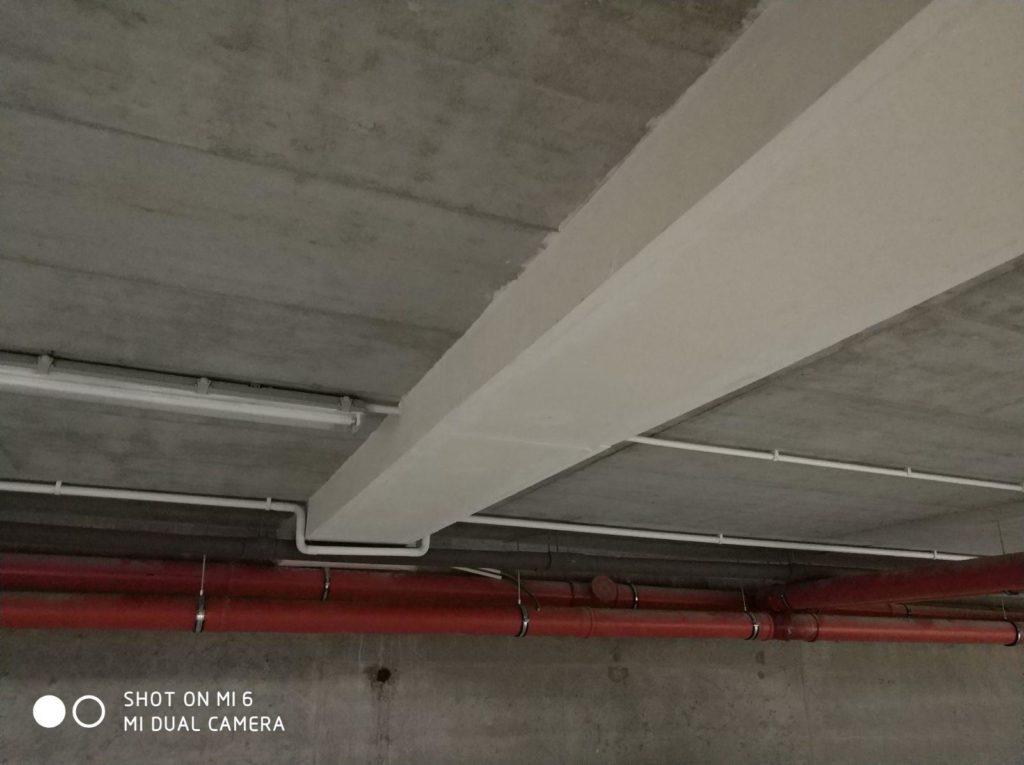 Zabezpieczenie przeciwpożarowe tras kablowych