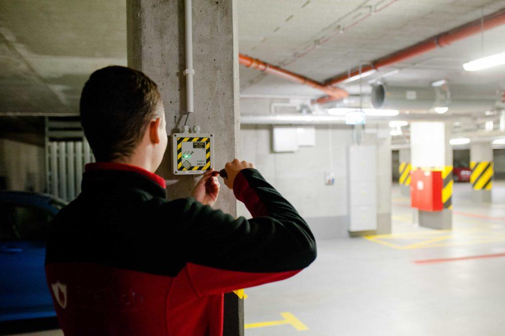 Detekcja gazów - instalowanie