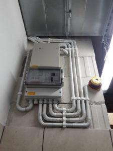 System detekcji gazów