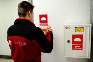 Ochrona przeciwpożarowa - serwis