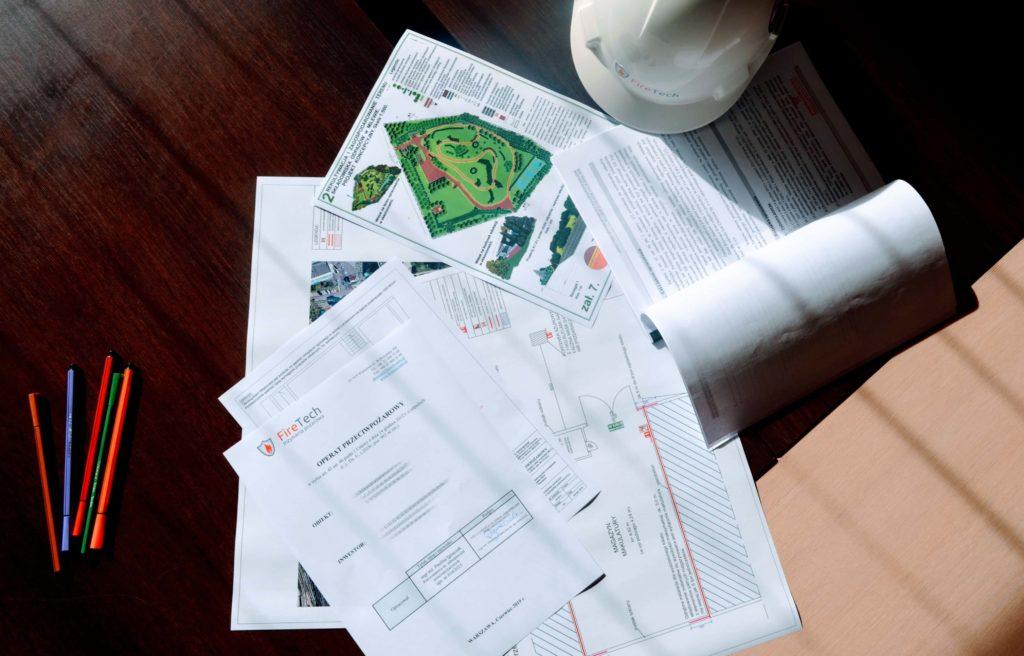 Operat przeciwpożarowy - dokumenty