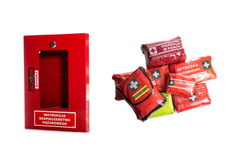 Artykuły i sprzęt przeciwpożarowy - oferta sklepu