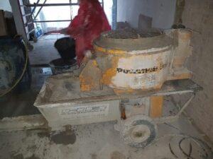 Maszyna do natrysku ogniochronnego ciężkiego